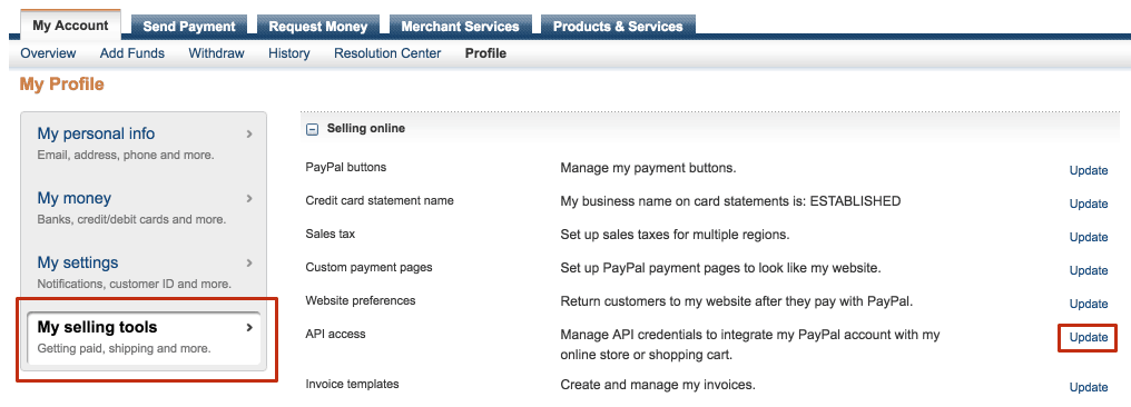 how to delete old paypal account