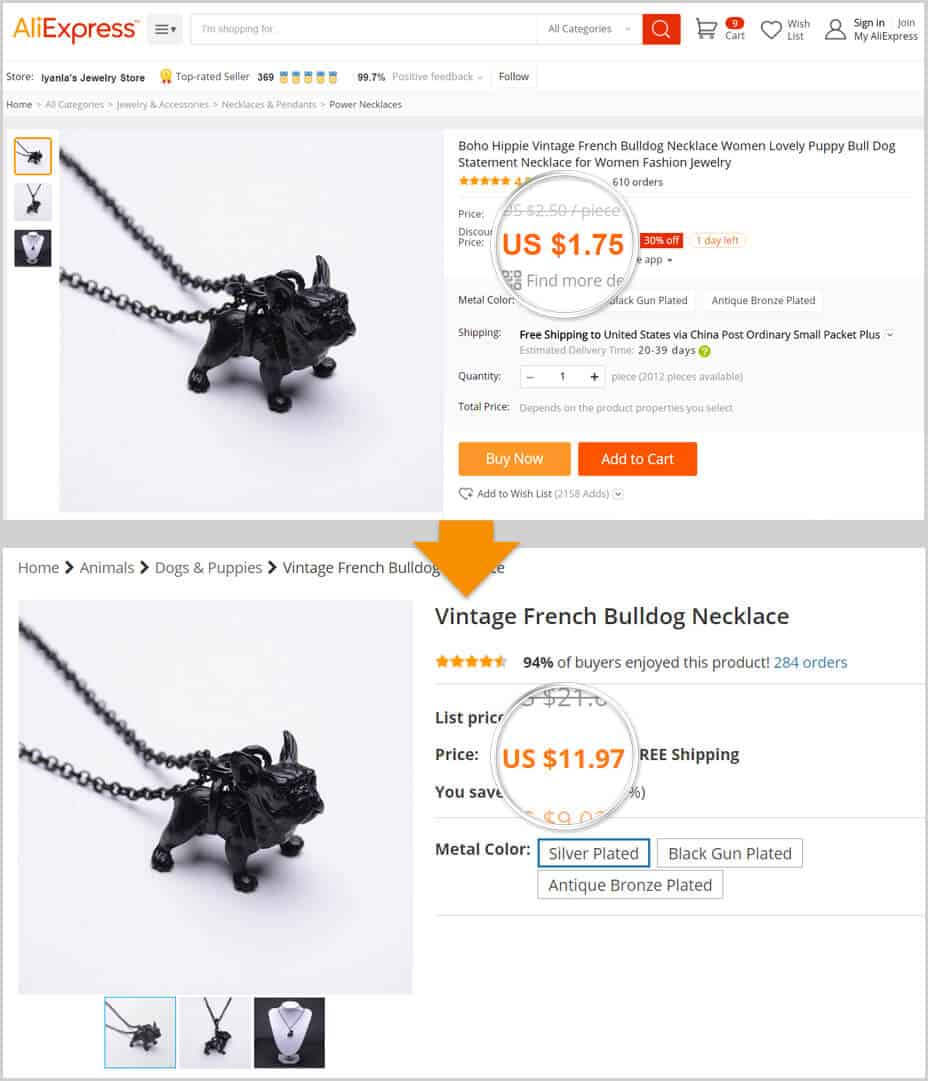 AliExpress Dropshipping Success Story by Alex