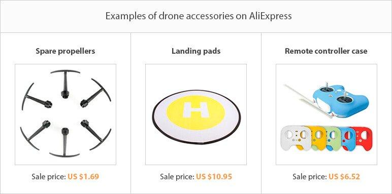 Dropshipping niche ideas: drone accessories