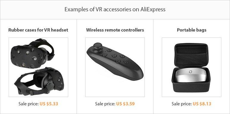 Dropshipping niche ideas: VR accessories