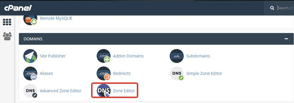 how to add a dns txt record