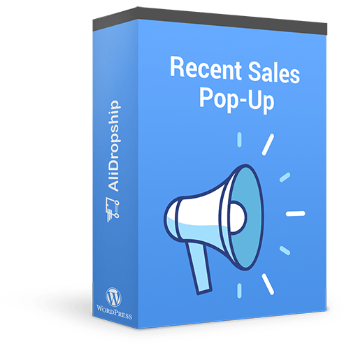 Recent Sales Pop-Up