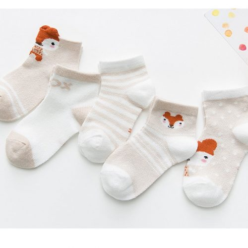 Screenshot of 5 baby socks as an example of cute products for dropshipping
