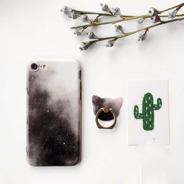 Space-themed phone cases