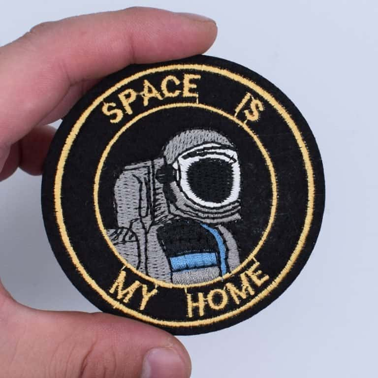Space-themed patches