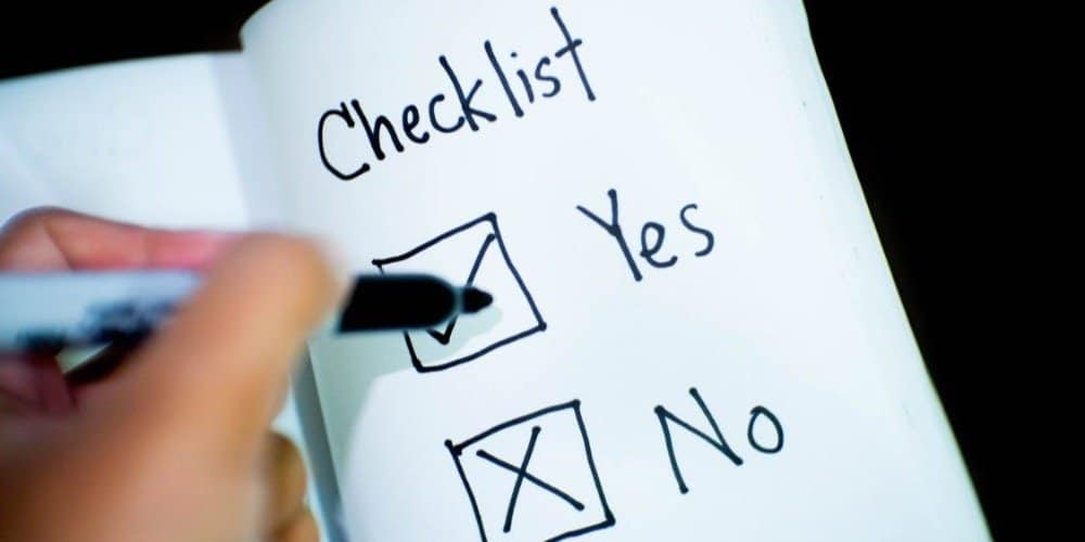 drop shipping business checklist for beginners