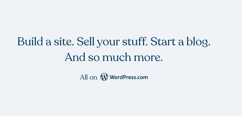 start blog with WordPress