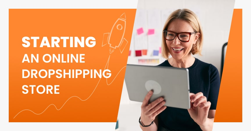 starting an online store with dropshipping