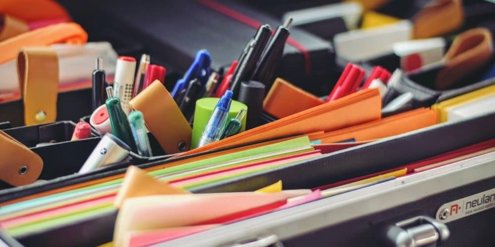 Pens, pencils, stickers and other stuff you need to develop a promotion plan