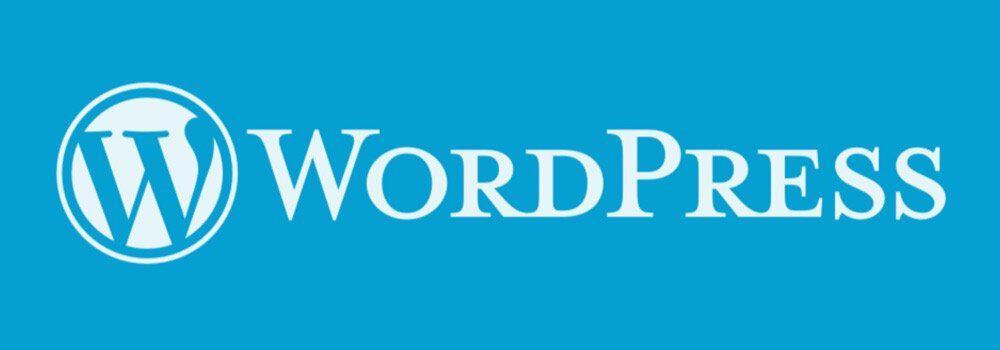 The logo of WordPress CMS