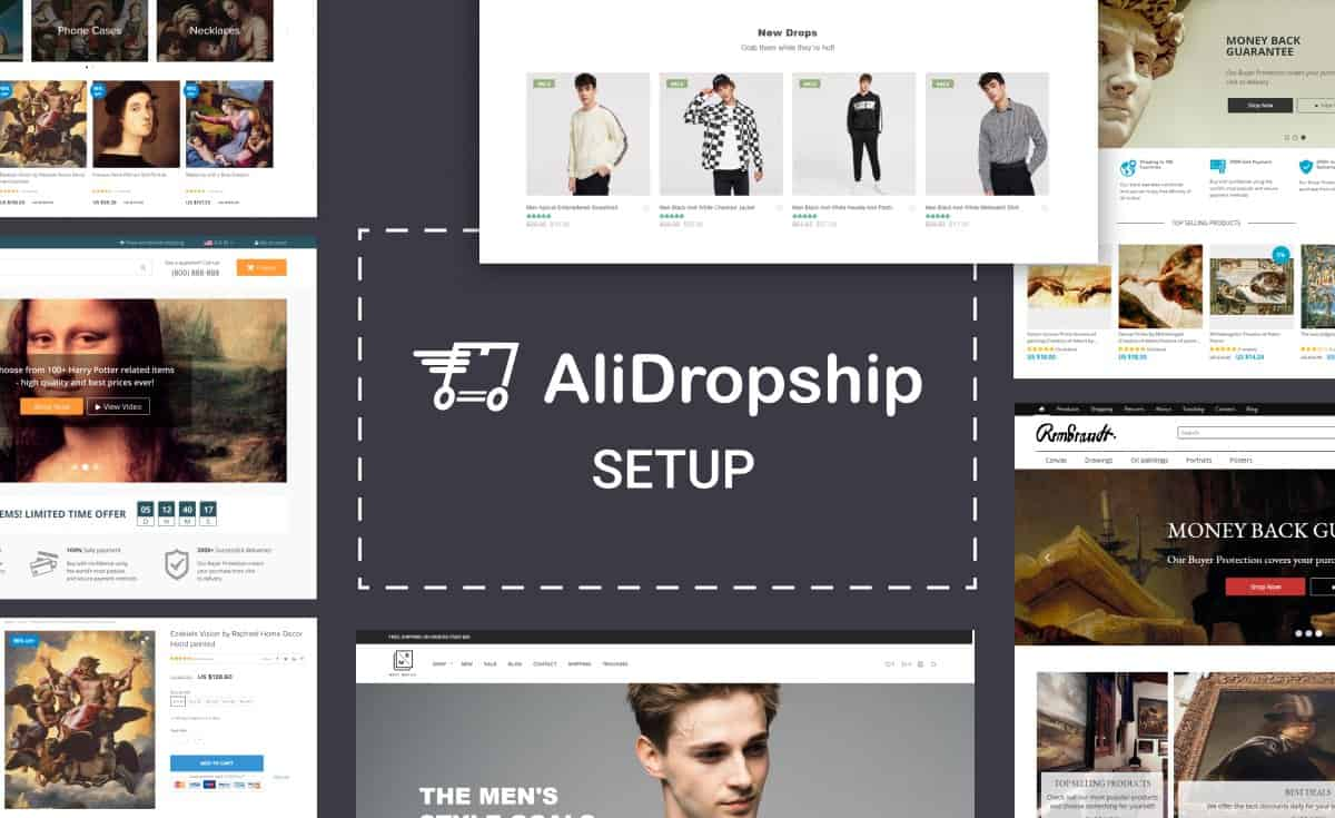AliDropship Dropshipping Services- store setup