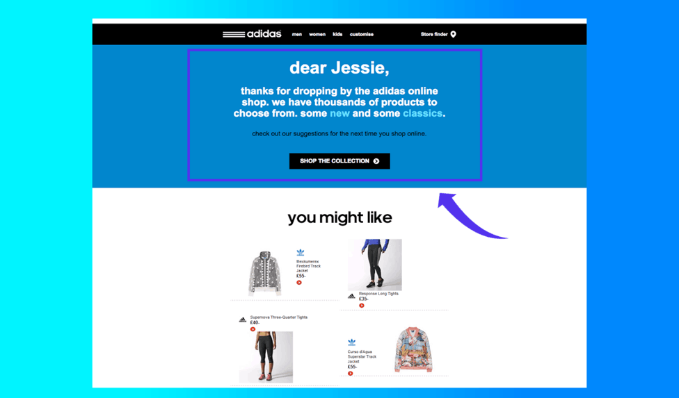 e commerce personalization examples