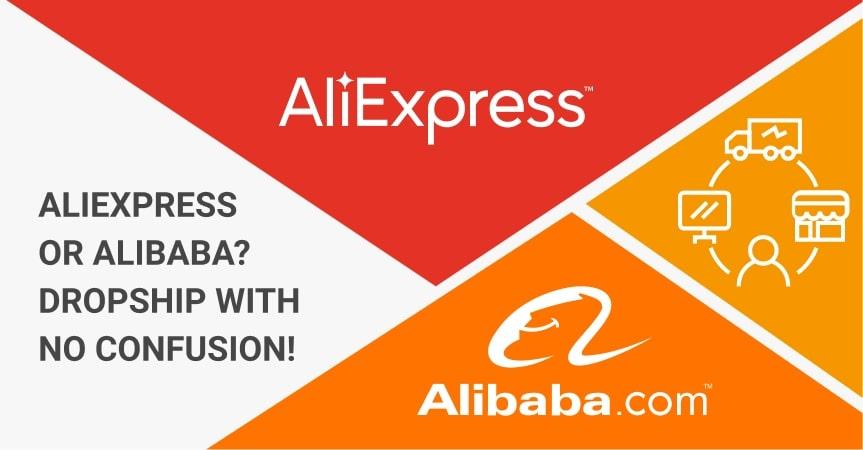 AliExpress or AliBaba dropship