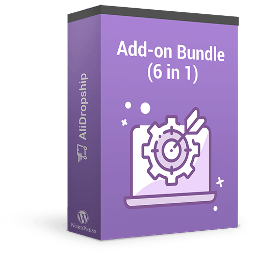 Add-on Bundle combines 6 pieces of dropshipping software aimed at boosing the store owner's volume of sales