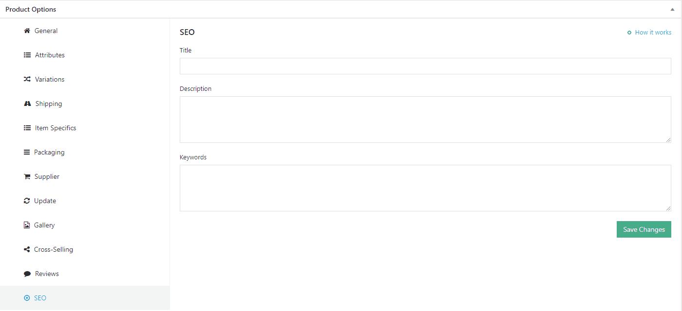 SEO Keywords meta tags