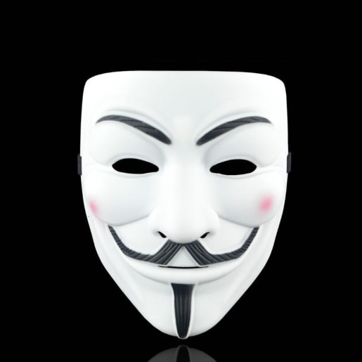 Guy Fawkes' mask on AliExpress