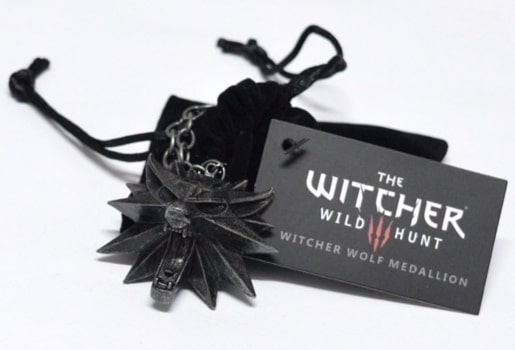 Pendant with The Witcher emblem