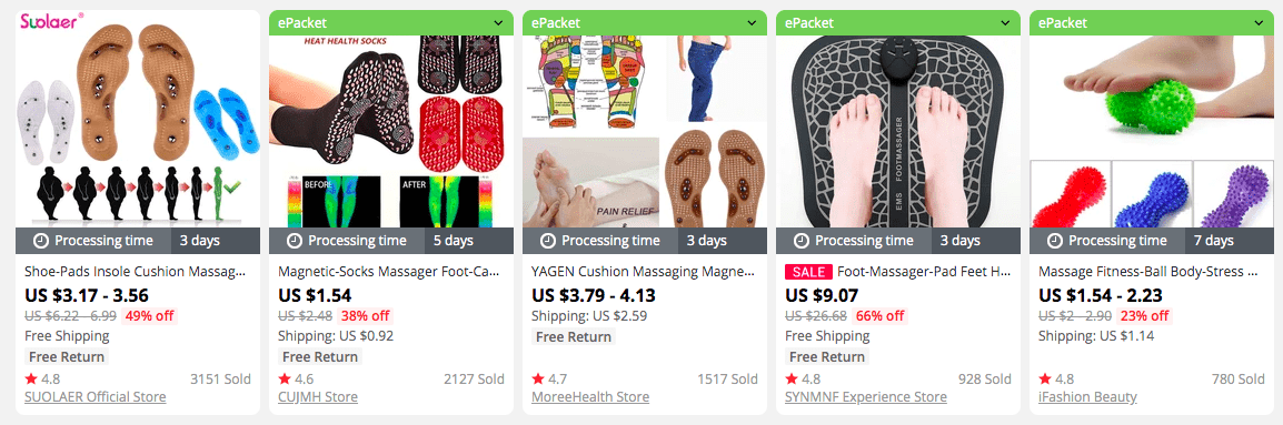 Looking for anti-stress products? How about feet massage tools?