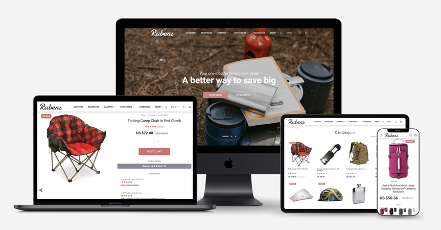 Welcome Rubens: A Minimalist eCommerce WordPress Theme Perfect For Your Dropshipping Store Brand