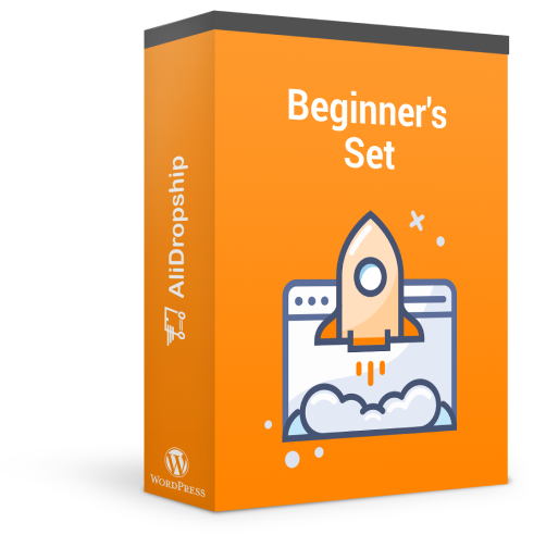 Beginner's Set is a package of dropshipping software solutions for newcomers to ecommerce