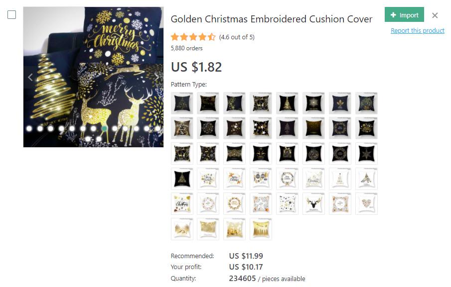 Christmas-themed cushion covers