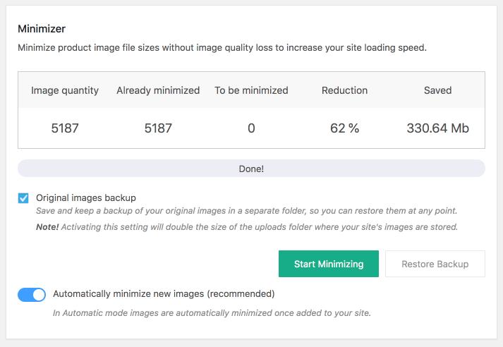 Image Size minimizer