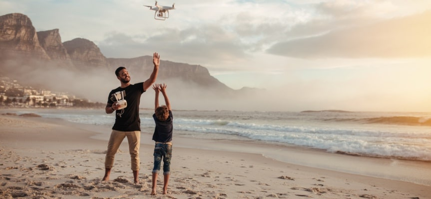 How to benefit from dropshipping drones if you don't want to deal with hi-tech products