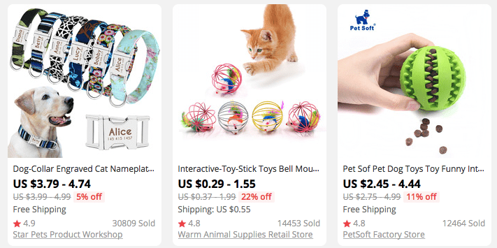 Looking for dropshipping niche ideas that are always fresh? Consider pet products!