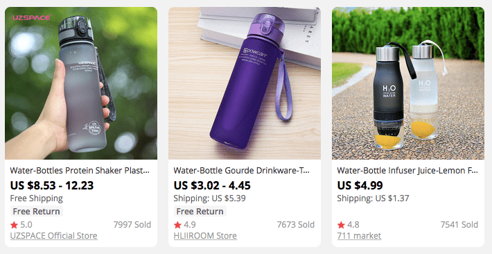 Looking for successful dropshipping niche ideas? Consider lifestyle products, like reusable water bottles.