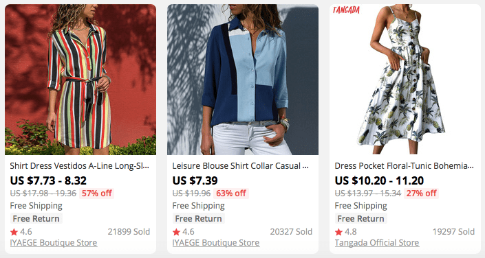 Looking for evergreen dropshipping niche ideas? Then women apparel is just what you need!