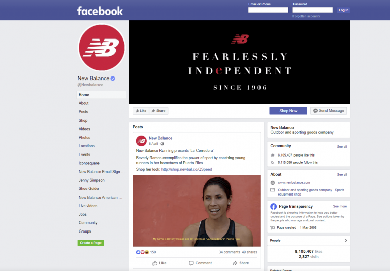 promote somebody's business on Facebook