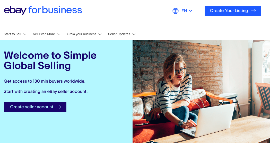 how to dropship on eBay: ebay for business
