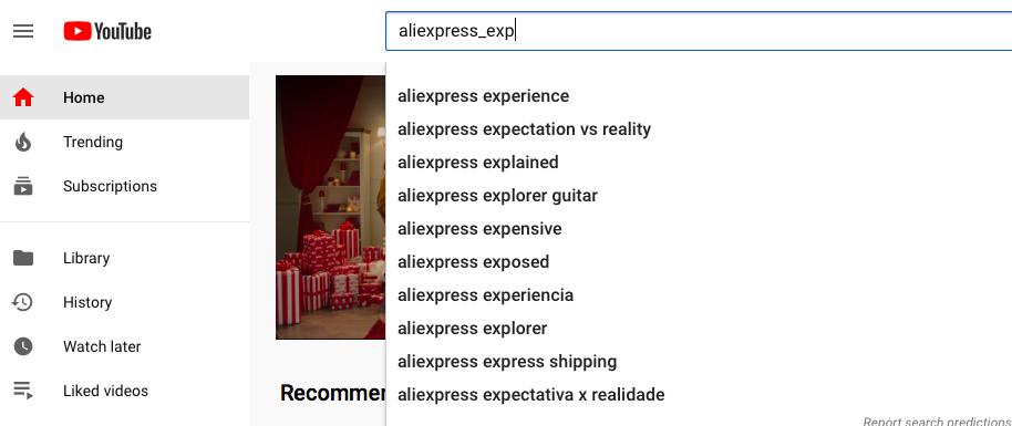 youtube keyword suggestions