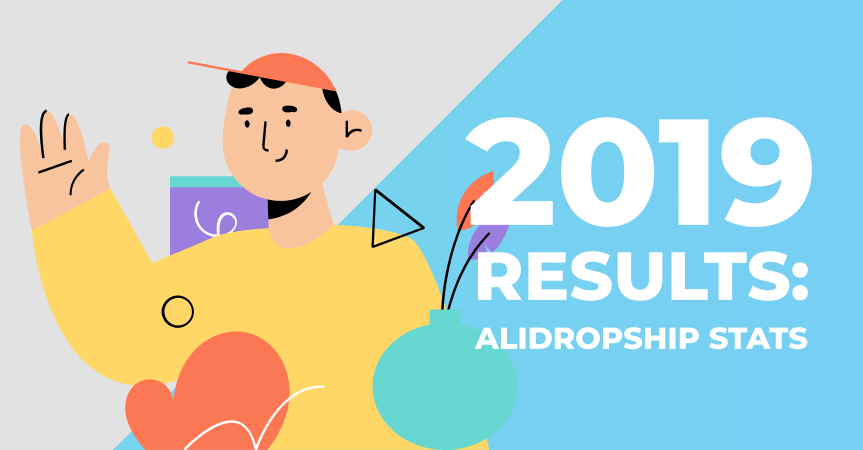 Dropshipping results 2019: Check out this infographic to see what we achieved