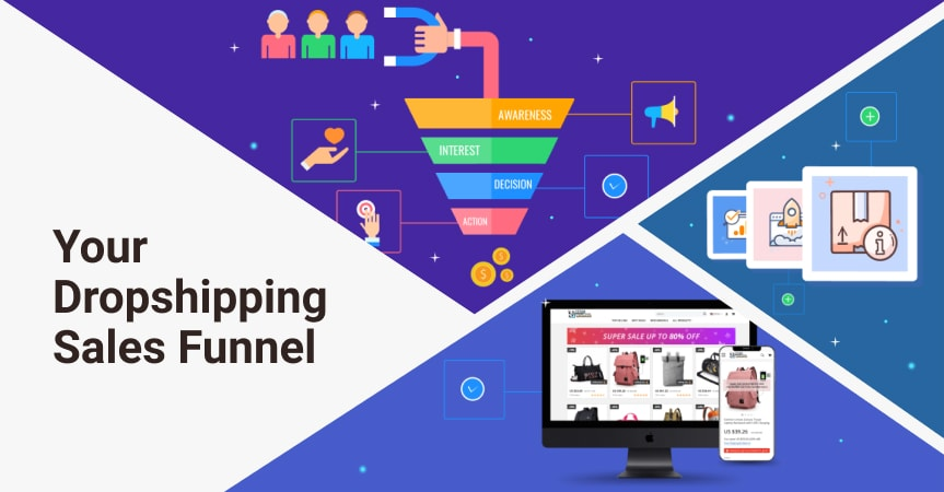 Your Dropshipping Sales Funnel: How To Improve It With AliDropship Solutions