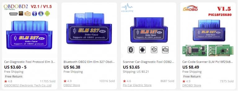 dropship car diagnostics