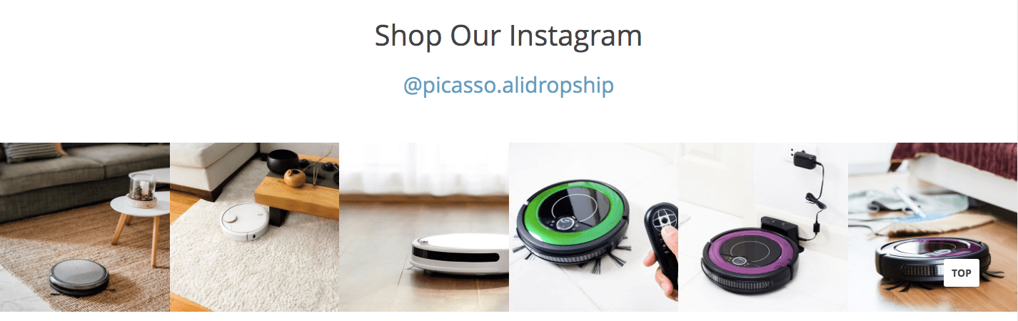 Instagram product store