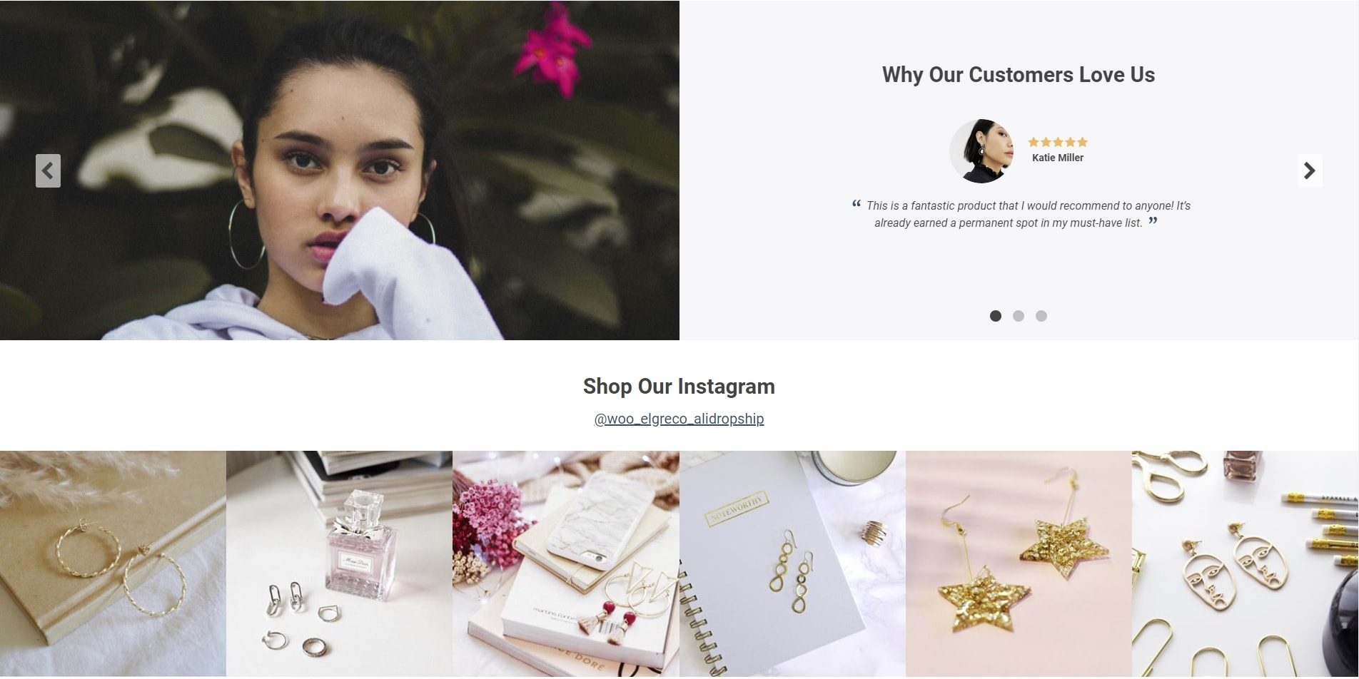 theme for online store with social proof