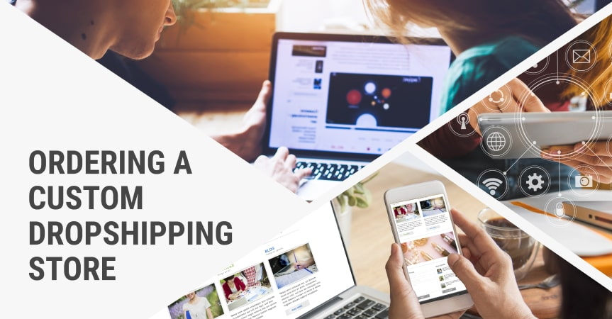 a cover of the article on starting a dropshipping store
