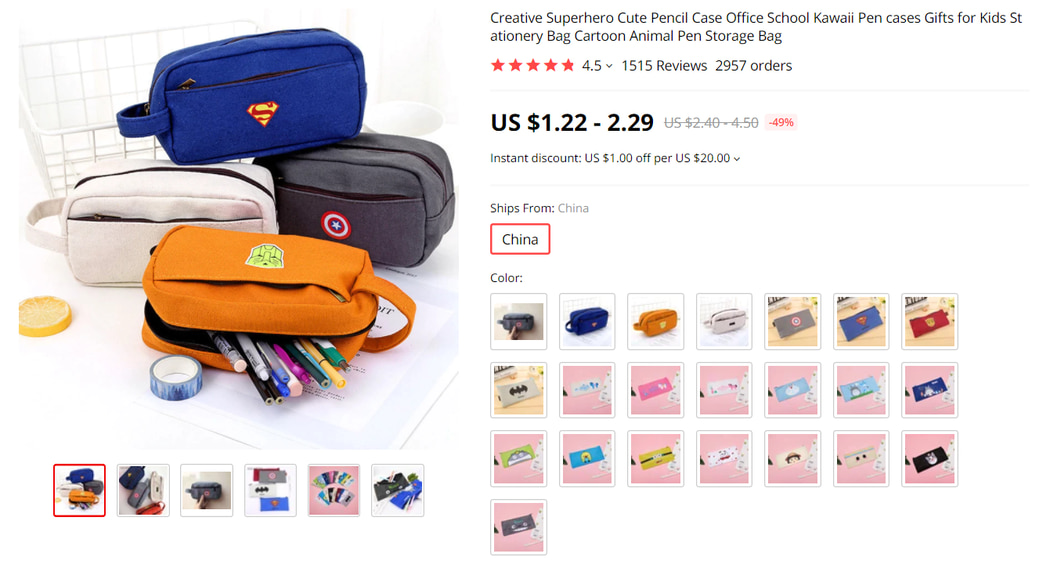 Pencil Case For Kids on AliExpress