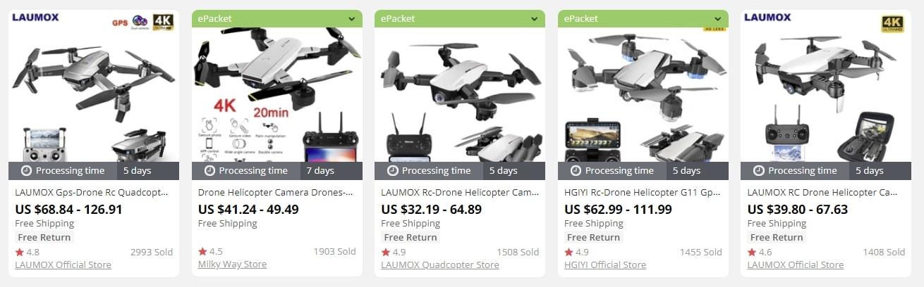 drones todropship