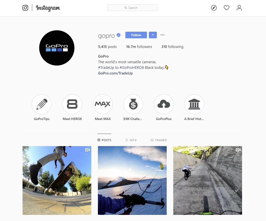 to follow on Instagram
