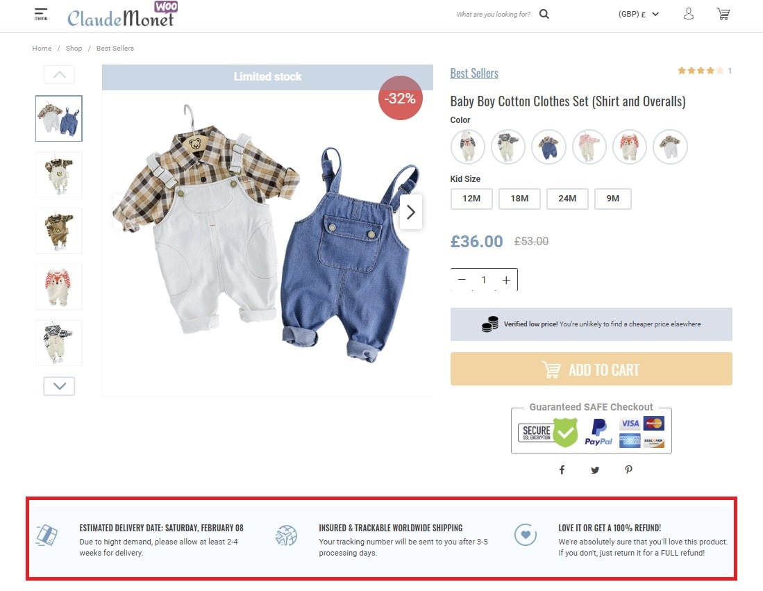 enhance online store credibility
