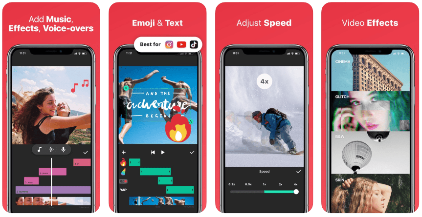 Editing apps for Instagram Stories: InShot