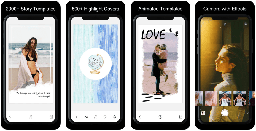 Editing apps for Instagram Stories: StoryArt