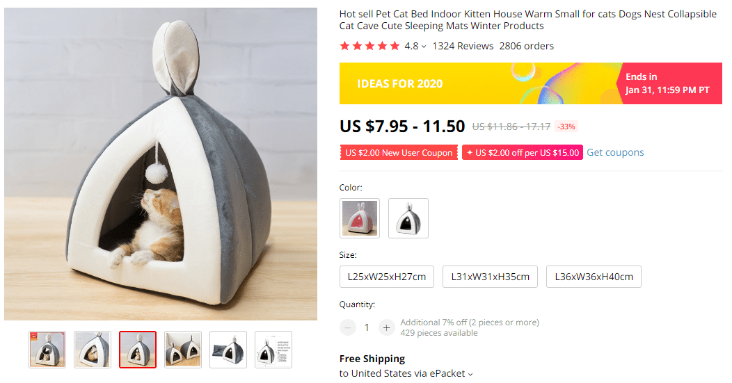 Best pet products to dropship: cat house