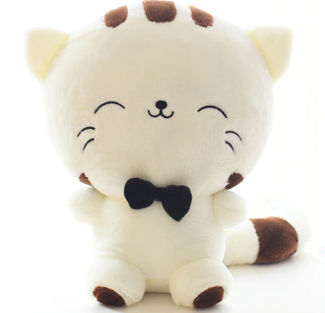 Photo of a cute plush kitten