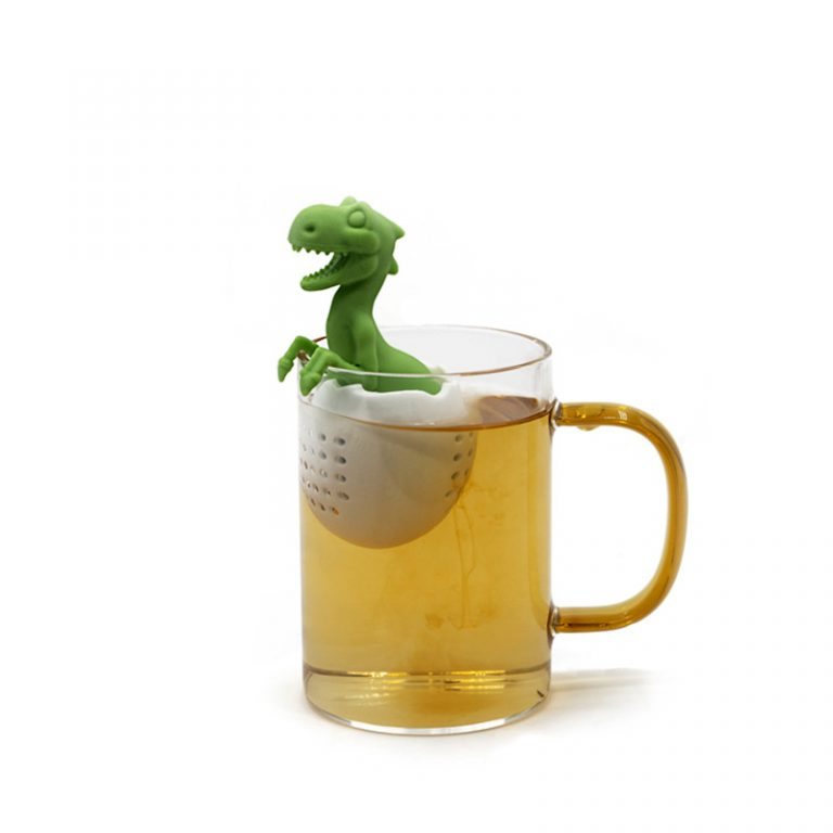 Screenshot of a dinasaur-shaped tea infuser