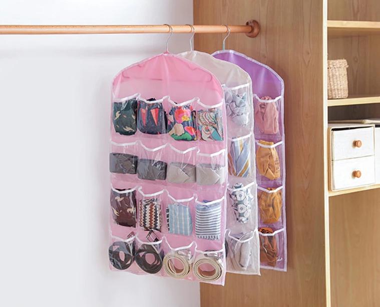Storage for socks and underwear