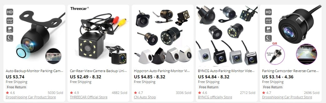 resell auto parts